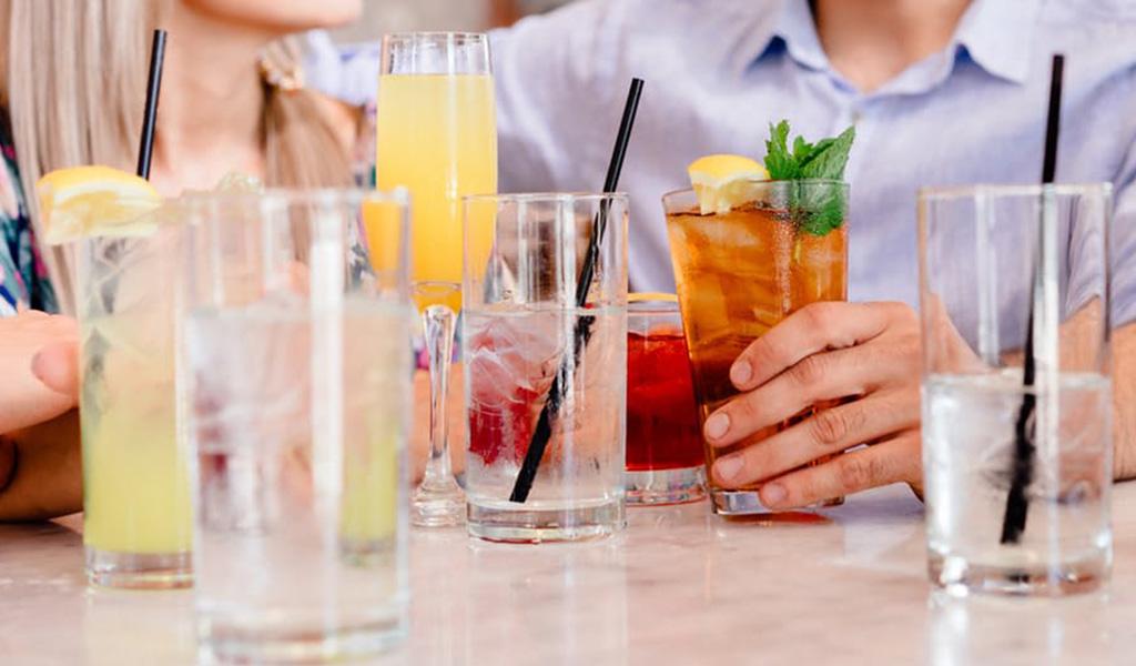 Haz curaduría de bebidas